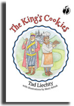 The front cover of The King's Cookies